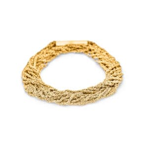 claudia milic sterling silver gold plated shine bracelet designyard contemporary jewellery gallery dublin ireland handmade