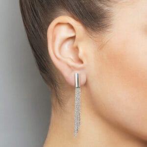 claudia milic sterling silver shine earrings designyard contemporary jewellery gallery dublin ireland handmade jewelry irish jewellers design designer shop