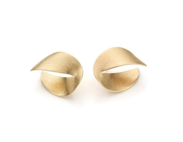 14k Yellow Gold Nina Small Stud Earrings Designyard