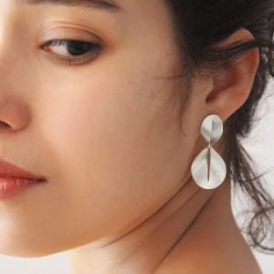Silver Nina Drop Earrings