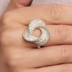 Sterling Silver Sweet Keys Ring