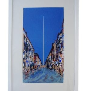 Monument Of Light Screen Print Framed Pieces DesignYard