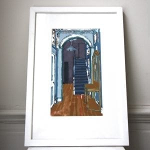Hallstand Screen Print Framed Pieces DesignYard
