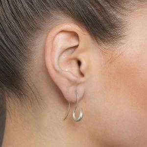 Sterling Silver Arcus Earrings