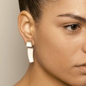 Sterling Silver Kubus Earrings