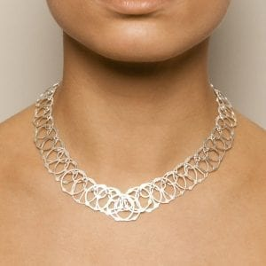 Sterling Silver Pan Necklace
