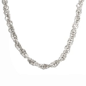 Sterling Silver Helix Necklace DesignYard