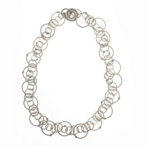 Sterling Silver Queue A Necklace DesignYard