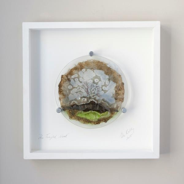 The Tangled Wood Framed Glass Piece DesignYard