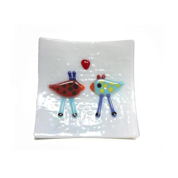 Love Birds Glass DesignYard