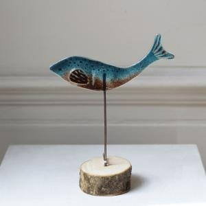 Glass Fish Sculpture DesignYard