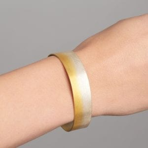 Electra Slim Yellow Gold Plated Silver Bracelet
