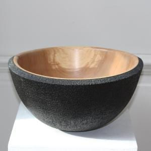 Black Jacket Wood Vessel DesignYard