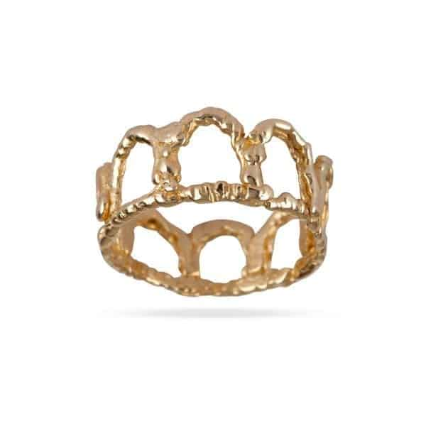 14k Yellow Gold Freedom Lacy Wedding Engagement Ring Designyard