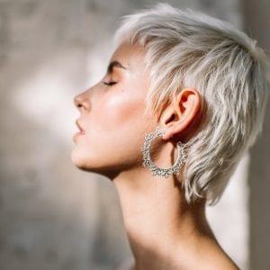 Sterling Silver Juanita Hoop Earrings DESIGNYARD