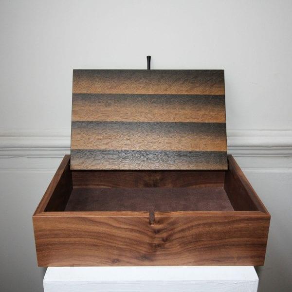 Walnut Wooden Box with Bogoak Veneer Designyard
