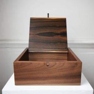 Walnut Wood Box with Ziricote Veneer Designyard