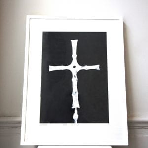 Cross of Cong Screen Print Framed Pieces DesignYard