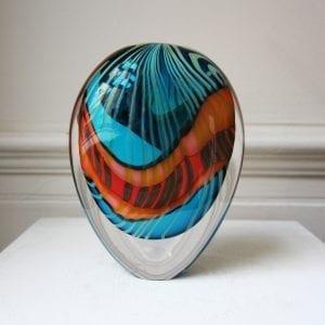 Turquoise Paradiso Stoneform Glass DesignYard