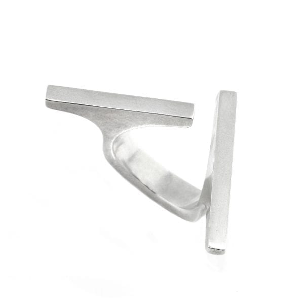 Sterling Silver Mikado Ring Designyard