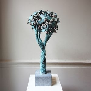 Liam Butler Apple Tree Copper Sculpture Designyard