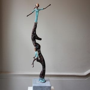 Liam Butler Copper Sculpture Growing Up Designyard