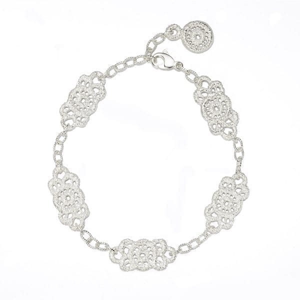 Sterling Silver Piccolo Turandot Bracelet Designyard