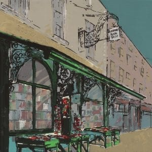 Bernadette Madden Greenes Book shop Screen Print Designyard