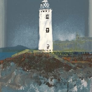Bernadette Madden Fanad Light House Art Screen Print Designyard