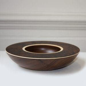 Mark Hanvey Walnut Sycamore Layered Bowl Designyard
