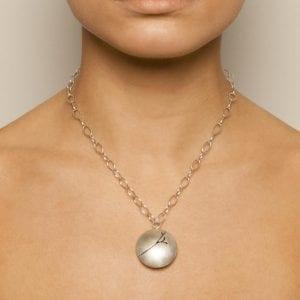 Sterling Silver Blossom Necklace DesignYard