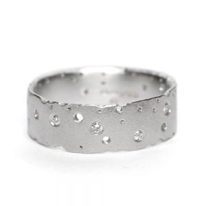 Sterling Silver Diamond Ring DesignYard