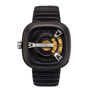 seven friday m series m2 01 black watch designyard