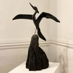 contemporary art sculpture bog oak tony downey designyard