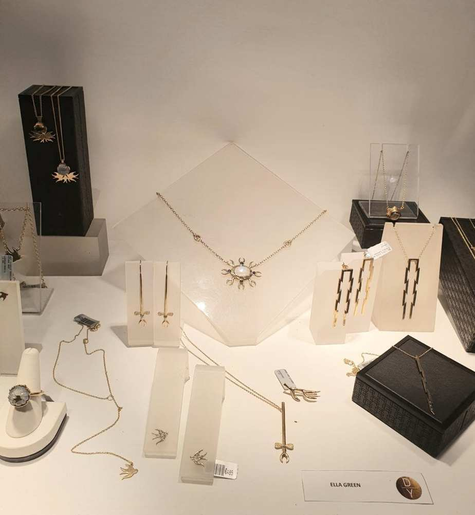ella green contemporary jewellery collection designyard