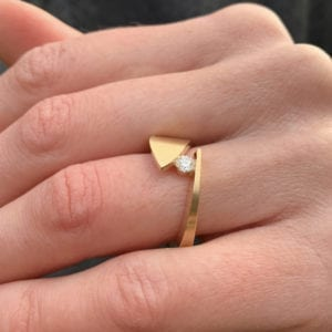 contemporary art rings jewellery design designyard dublin ireland alternative engagement rings