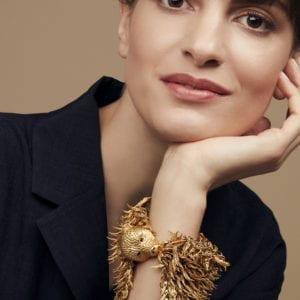 contemporary jewellery art dionysus bear bracelet simon harrison designyard dublin ireland