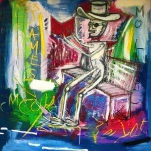 contemporary impressionist art pigsy artist designyard dublin irrland