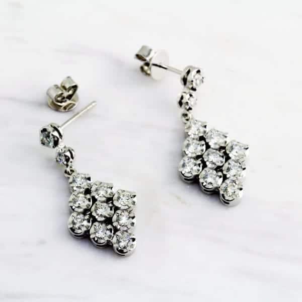 contemporary jewellery diamond earrings designyard dublin ireland ronan campbell