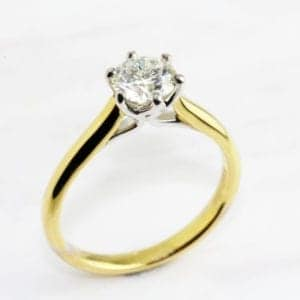 contemporary diamond engagement rings dublin ireland designyard ronan campbell solitaire