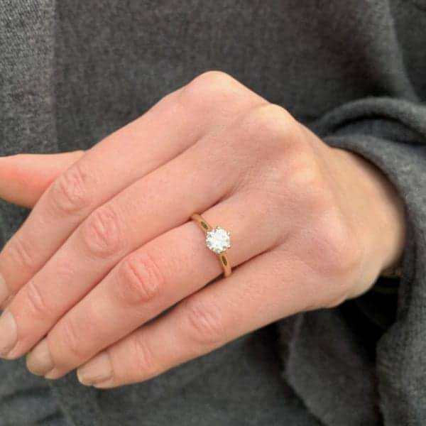 contemporary engagement rings dublin ireland solitaire