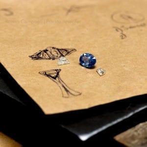 contemporary engagement ring ronan campbell designyard