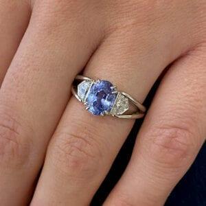 ronan campbell bespoke platinum sapphire split shank diamond engagement ring designyard contemporary jewellery gallery dublin ireland sheen falls co kerry adare manor co limerick london paris rome new york monaco