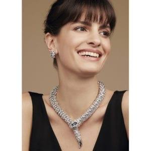 contemporary jewellery art designyard dublin ireland necklace simon harrison snake bulgari