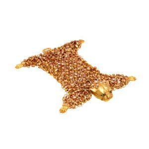 contemporary art jewellery bracelet leopard designyard dublin ireland simon harrison