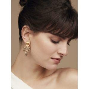 contemporary jewellery art earrings designyard dublin ireland simon harrison leopard