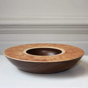 contemporary wooden bowl art design craft sculpture maple walnut sycamore designyard dublin ireland mark hanvey wood bowls
