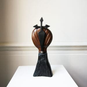 tony downey pilgrims way bog oak sculpture designyard contemporary art gallery dublin ireland