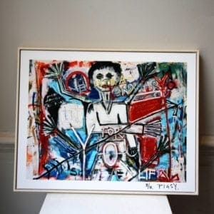 limited edition prints pigsy the extra ordinary crucified by you designyard dublin ireland