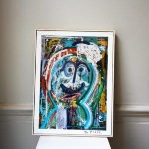 limited edition framed print pigsy broken cortex designyard dublin ireland